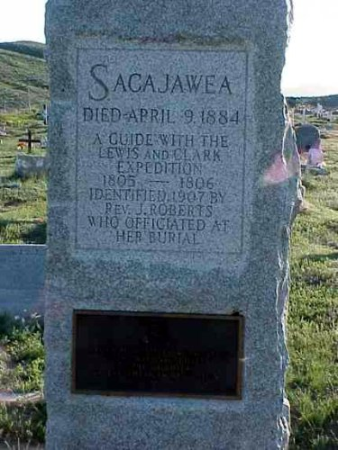 Sacagawea Grave