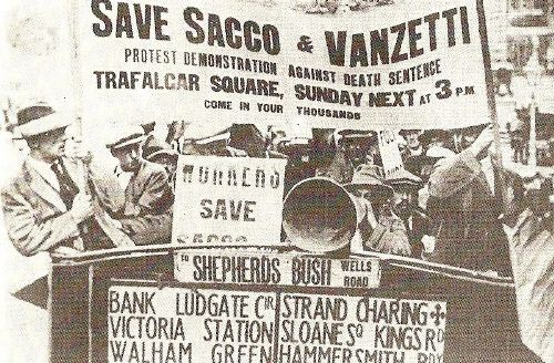 Sacco and Vanzetti Facts