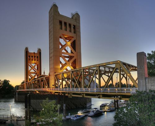Sacramento California Bridge