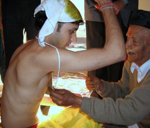 the Sacred Thread Ceremony
